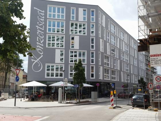 Neu Ulm Krankenhausstraße Wohnen Leben Arbeiten im Konzertsaal September 2014 (3)