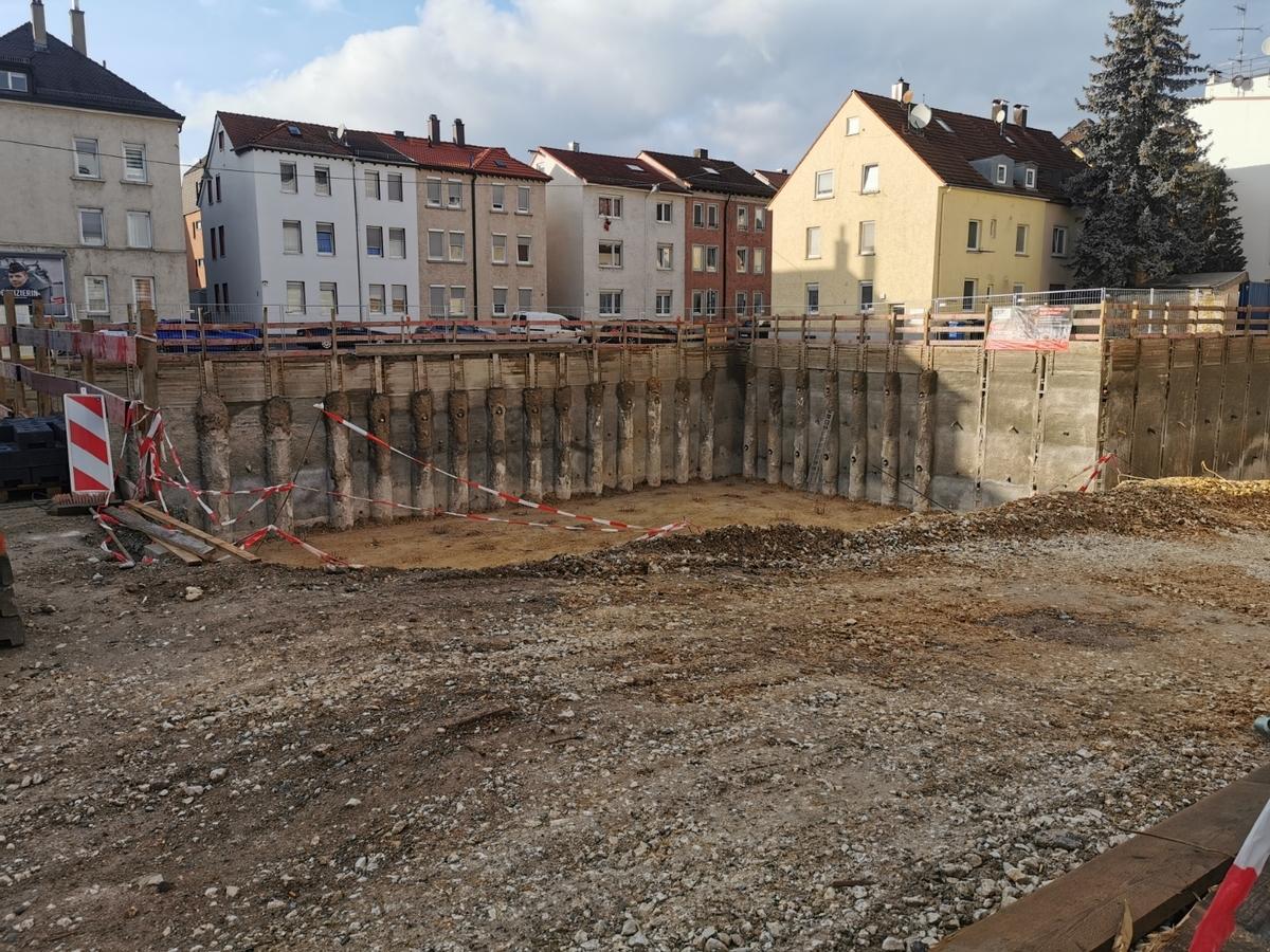 Neubau Karlstraße Dezember 2019