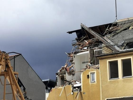 Ulm, Abriss, Neubau, Karlstraße 36, September 2020