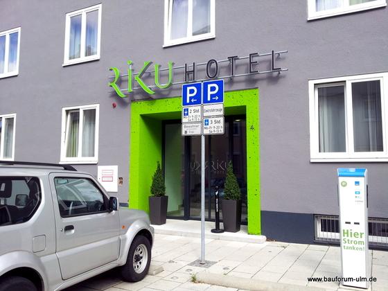 Neu Ulm Riku-Hotel  Augsburger Straße (19)
