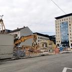 Ulm, Abriss, Karlstraße 36, Neubau, September 2020