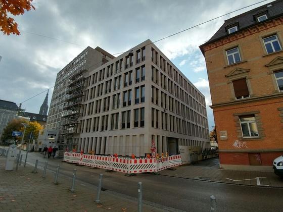 Justizzentrum Bauabschnitt 1 Oktober 2016