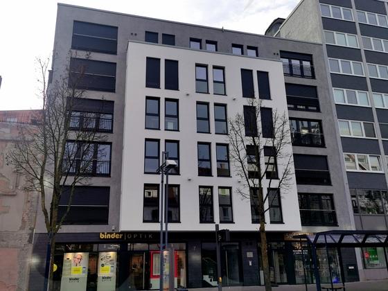 Neu-Ulm Wohn und Geschäftsgebäude Januar 2020
