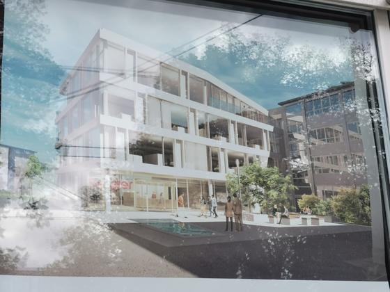 Neubau Verwaltungsgebäude Oktober 2019