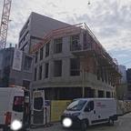 Ulm, Neubau Apotheke, April 2021