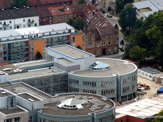 Neu Ulm Donauklinik-Erweiterungsbau  Krankenhausstraße 11 August 2013 (2)