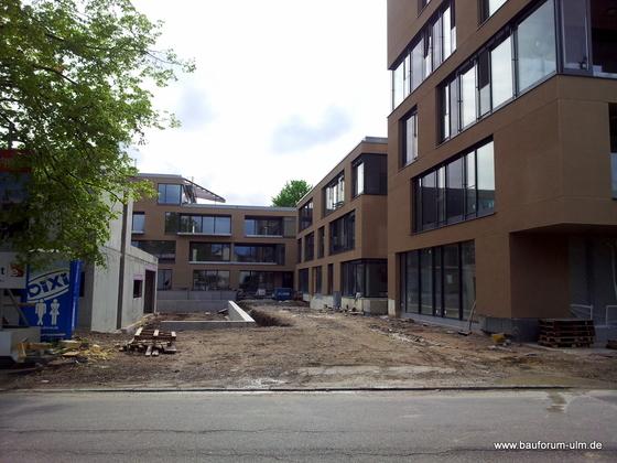 Ulm Neues Gemeindehaus  Wohnanlage Königstraße Mai 2013 (5)