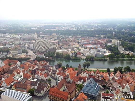 Ulm Neu Ulm  Panorama Baustellen Übersicht August 2013 (7)
