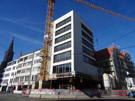 Ulm Frauenstraße  Neue Straße Schlegelgasse Wohn und Geschäftshaus Oktober 2013 (7)