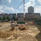 Ulm Neubau Dichterviertel Mai 2018