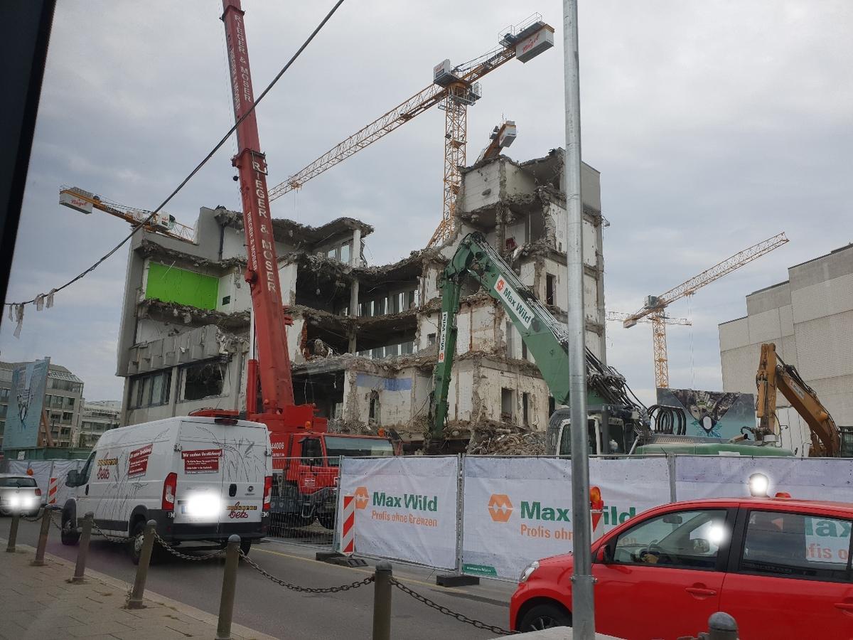 Ulm Abriss August 2018