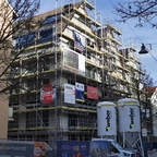 Ulm Rad Gasse Ecke Gideon- Bäche-Straße Januar 2020