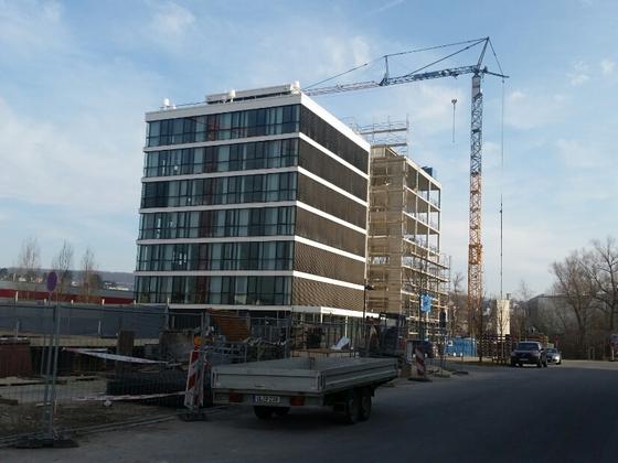 Ulm Neubau Anbau Magirus Deutz Straße 17 März 2015 1