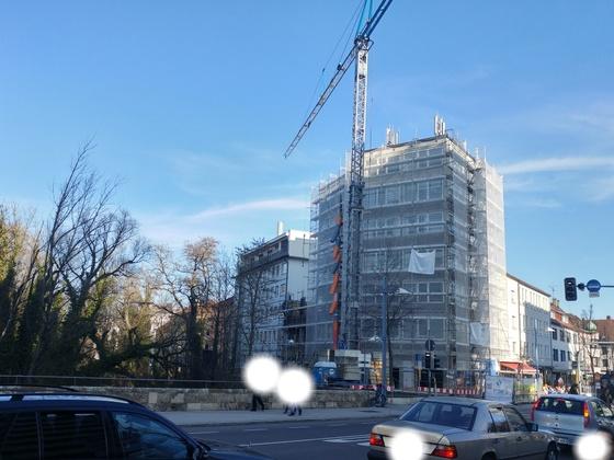 Neu Ulm Umbau und Neubau Marienstraße 2 März 2017