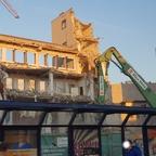 Abriss Bahnhfsplatz 7 August 2018