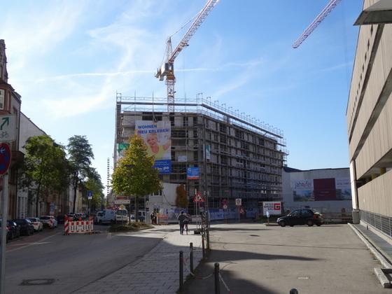 Neu Ulm Krankenhausstraße Wohnen Leben Arbeiten im Konzertsaal Oktober 2013 (1)