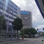 Neu Ulm Fassaden Sanierung Donau Center Juni 2020