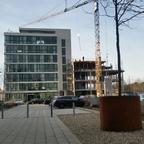 Ulm Magirus Deuz Straße Neubau Anbau Januar 2015