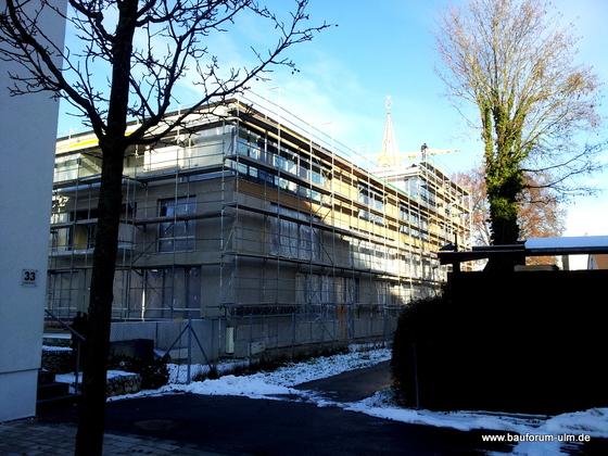 Ulm Neues Gemeindehaus  Wohnanlage Königstraße Dezember 2012 (2)