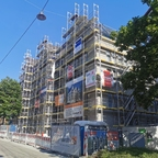 Ulm, Neubau, Rad Gasse, Mai 2020