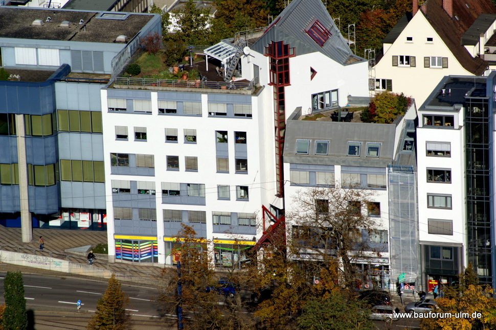 Ulm Sanierung eines Gebäudes in der Olgastraße Oktober 2012