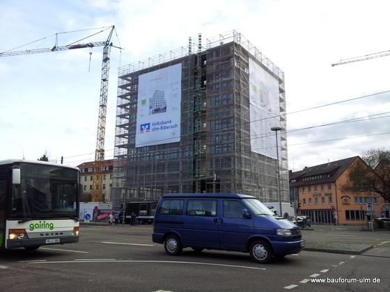 Ulm Wengentor Ecke Olgastraße Wengengasse Januar 2013 (2)