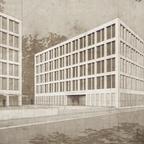 Ulm Neubau Justizzentrum Olgastraße