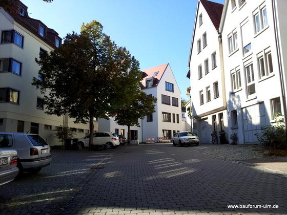 Ulm Wohnhaus Hämpfergasse 9 Oktober 2012 (8)