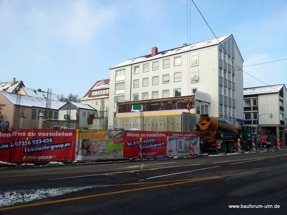 Ulm  Wohn und Geschäftshaus  Frauenstraße - Neue Straße - Schlegelgasse Januar 2013 (1)