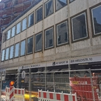 Ulm Neubau Hotel am Münsterplatz August 2020