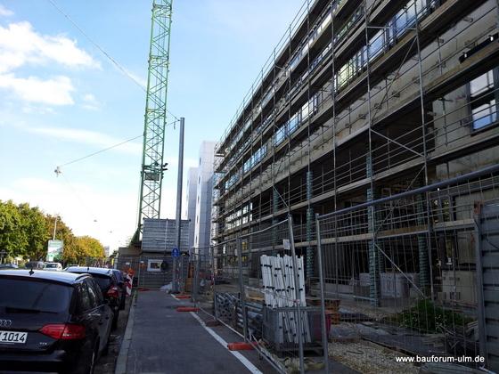 Ulm Bürogebäude-Ensemble Businesspark  Weststadt Einsteinstraße  (11)
