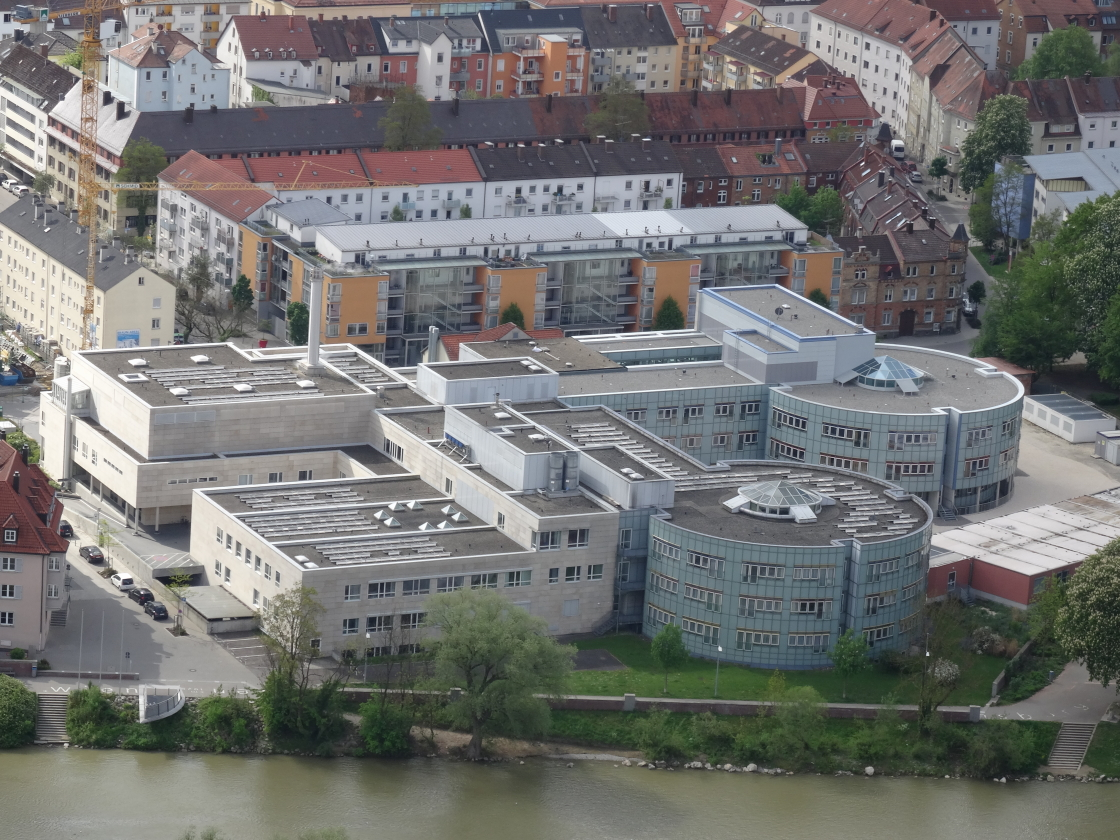 Neu Ulm Krankenhausstraße Donauklinik Mai 2014