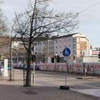 Ulm Neubau Pflegeheim an der Donau Januar 2020