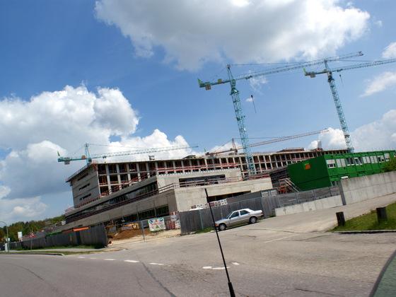 Ulm Universitätsklinikum  Neue Chirurgie  Oberer Eselsberg (5)