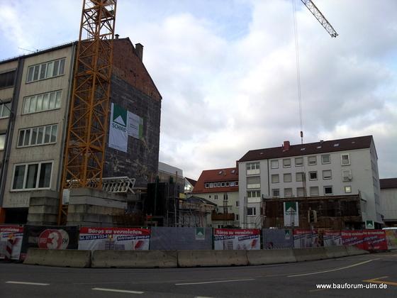 Ulm Wohn und Geschäftshaus  Frauenstraße Neue Straße Schlegelgasse Januar 2013 (4)