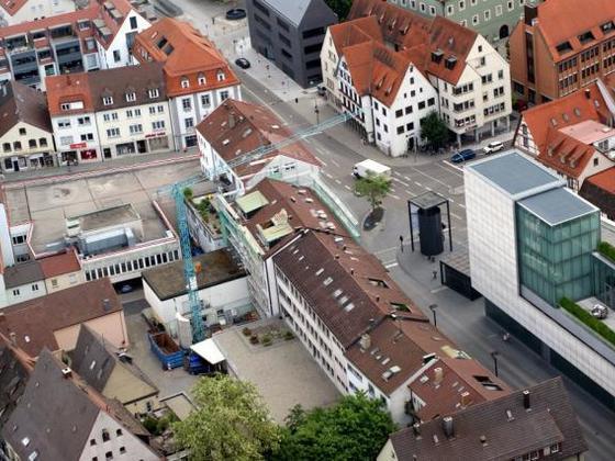 Ulm Wohn und Geschäftshaus  Frauenstraße  Neue Straße Schlegelgasse (2)