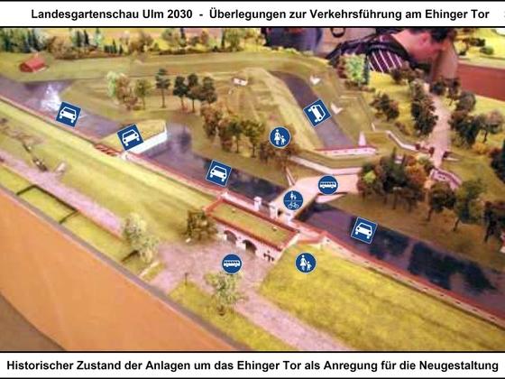 LGS Ulm 2030 - Überlegungen zur Verkehrsführung am Ehinger Tor 03 17x12cm