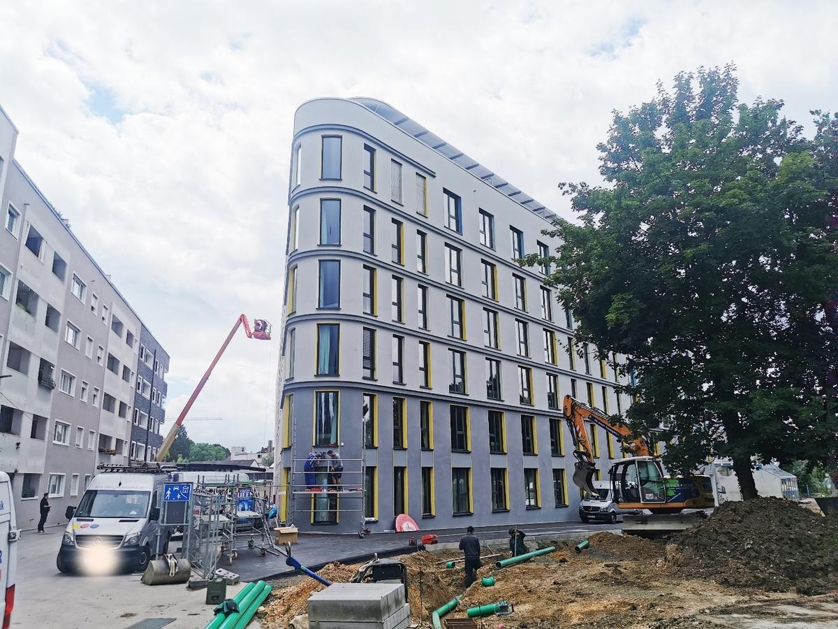 Ulm, Neubau Dichterviertel