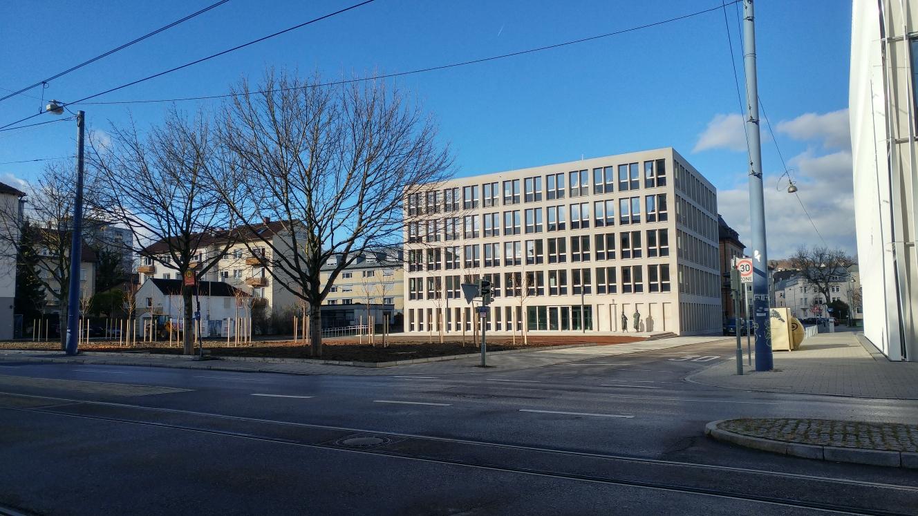 Neubau Justizzentrum November 2017