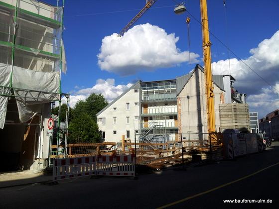 Ulm Stadtloft Sedanstraße 124  Wohnhaus Sedanstraße 120 122 Juli 2013 (3)