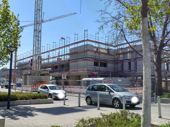 Neubau Weststadt April 2017