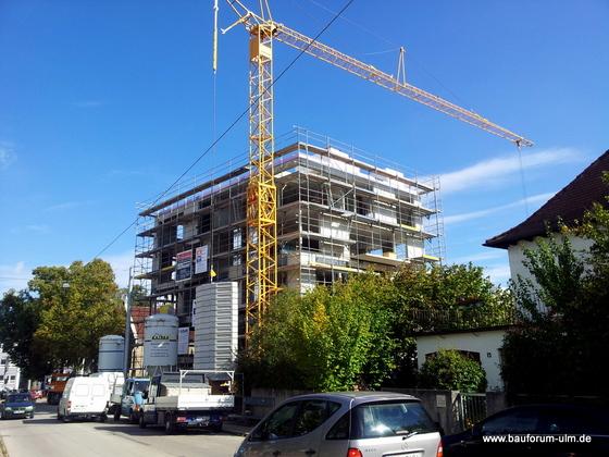 Ulm Neues Gemeindehaus  Wohnanlage Koenigstraße Oktober 2012 (5)