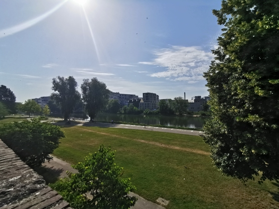 Neu Ulm Neubau an der Donau Juli 2019