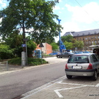 Ulm Ulm  Stapelturnhalle  Humbold-Kepler-Areal Olgastraße Juli 2013 (1)