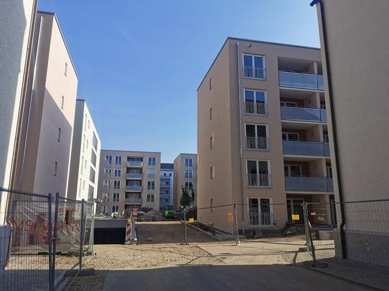 Ulm, Neubau, Postdörfle, Mai 2020