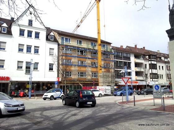 Neu Ulm Sanierung Augsburger Straße April 2013