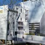 Neu Ulm Neubau Wohnquatier Luipoldstraße Februar 2015