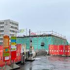 Ulm, Bahnhofsvorplatz, Tiefgarage, Mai 2021