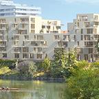 Neu Ulm Wohnen am Jahnufer  Alte Produktionsgelände der Firma Lebkuchen Weiss und die Flussmeisterei (5)